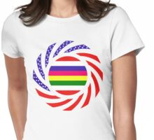 Korean American Multinational Patriot Flag Series 2.0 Womens Fitted T-Shirt