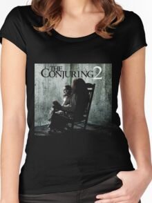 The conjuring 2 the enfield poltergeist Women's Fitted Scoop T-Shirt