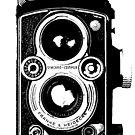 Rolleiflex Camera by monsterplanet