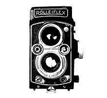 Rolleiflex Camera Photographic Print