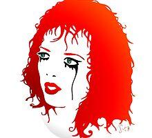 Shirley Manson in tears by georgatos