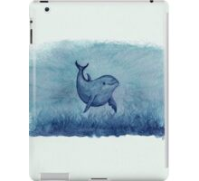 Inshore Dolphin Watercolor iPad Case/Skin