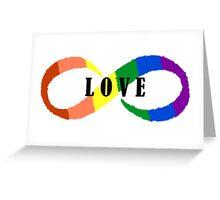 Love is Infinite Greeting Card