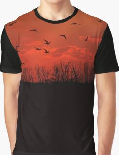 Fly Away Home Graphic T-Shirt