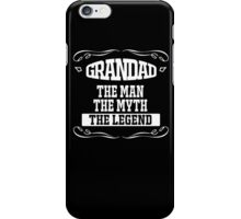 fathers day gift grandad iPhone Case/Skin