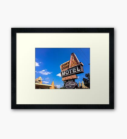 Gettin Cozy at the Cone Framed Print