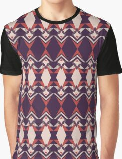 Art Deco Motif Pattern Graphic T-Shirt