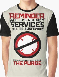 Reminder The Purge Graphic T-Shirt