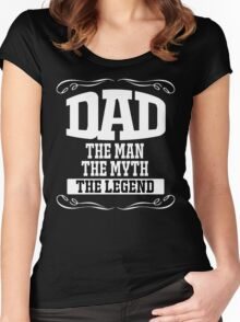 fathers day gift Women's Fitted Scoop T-Shirt