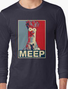 Beaker Meep Poster Long Sleeve T-Shirt