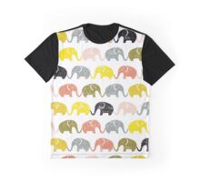 seamless pattern with elephants Graphic T-Shirt