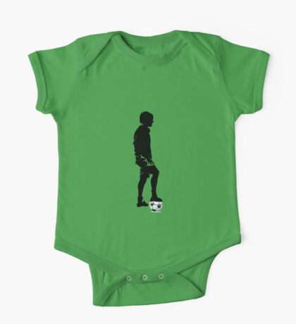 Soccer player in action One Piece - Short Sleeve