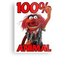 Muppets 100 Animal oder Geburtstagsgeschenk Metal Print