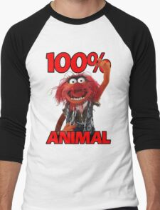 Muppets 100 Animal oder Geburtstagsgeschenk Men's Baseball ¾ T-Shirt