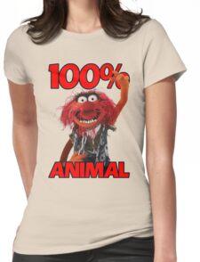 Muppets 100 Animal oder Geburtstagsgeschenk Womens Fitted T-Shirt