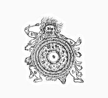 TamDin Buddhist Protective Charm Black on White Classic T-Shirt