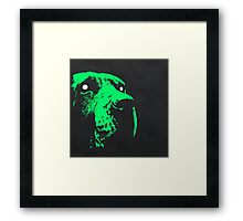 Ghost Dog Framed Print