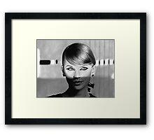 Taylor Swift Shadows Framed Print