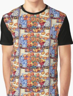Tulips and China on the Mantlepiece Graphic T-Shirt