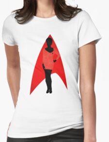 Star Trek - Silhouette Uhura Womens Fitted T-Shirt