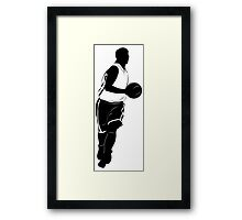 Basketball players Framed Print