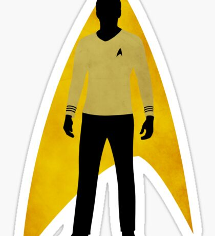 Star Trek - Silhouette Kirk Sticker