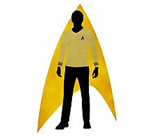 Star Trek - Silhouette Kirk Photographic Print