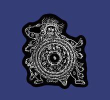 TamDin Buddhist Protective Charm white on black Unisex T-Shirt