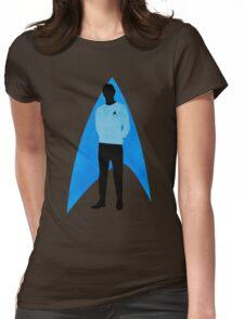 Star Trek - Silhouette Spock Womens Fitted T-Shirt