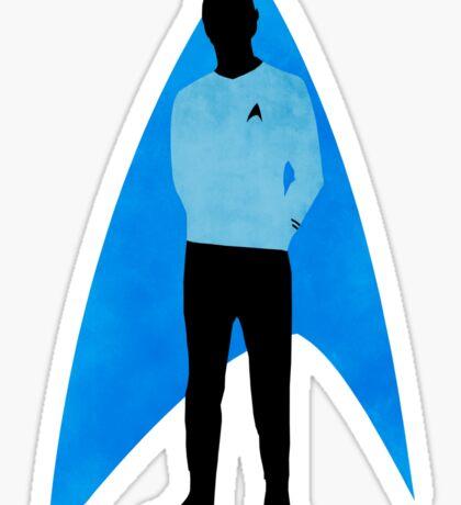 Star Trek - Silhouette Spock Sticker