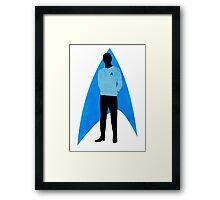 Star Trek - Silhouette Spock Framed Print