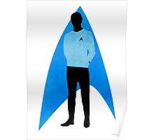 Star Trek - Silhouette Spock Poster