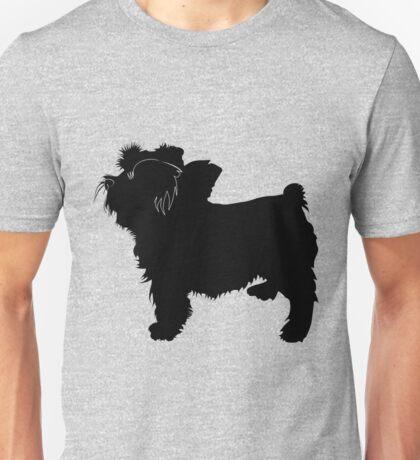 Bouvier des flandres dog silhouette Unisex T-Shirt