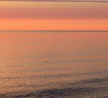 Morning At Parlee Beach, Shediac 002 Sticker