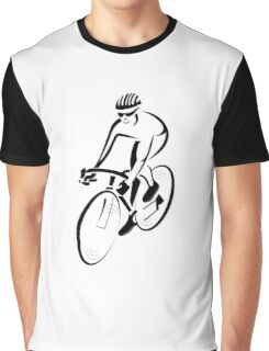 Riding a bicycle art Graphic T-Shirt