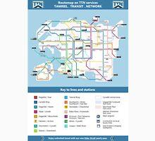 Routemap of Tamriel Unisex T-Shirt