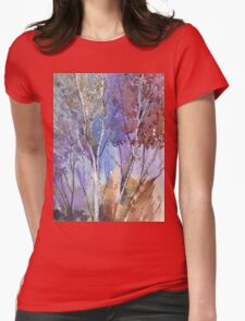 Enter these enchanted woods Womens Fitted T-Shirt