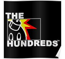 The Hundreds Bomb White Poster