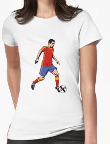 Soccer - Fußball - Spain  Womens Fitted T-Shirt