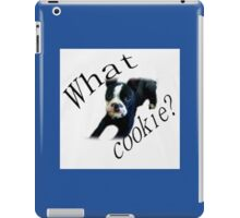 What Cookie? iPad Case/Skin