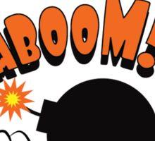 Kaboom!!! Pop Art Graphic Sticker