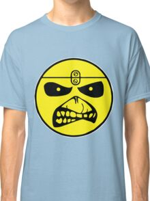 Iron Maiden Smiley Face Classic T-Shirt