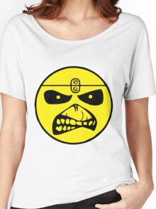 Iron Maiden Smiley Face Women's Relaxed Fit T-Shirt