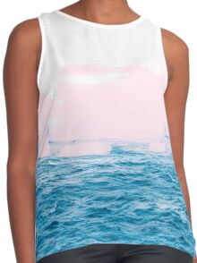 Ocean _ Pink #redbubble #lifestyle Contrast Tank