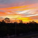 The Skys on Fire by Wayne  Nixon  (W E NIXON PHOTOGRAPHY)