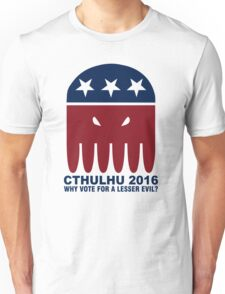 Vote Cthulhu Squid 2016 Unisex T-Shirt