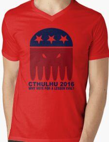 Vote Cthulhu Squid 2016 Mens V-Neck T-Shirt