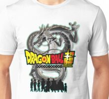 Dragon Ball Super w/ Character Silhouettes  Unisex T-Shirt