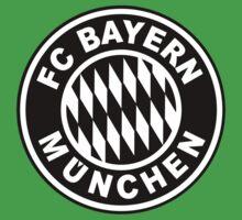 FC Bayern Munich Black Baby Tee