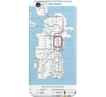 Azeroth - Kalimdor Routemap iPhone Case/Skin